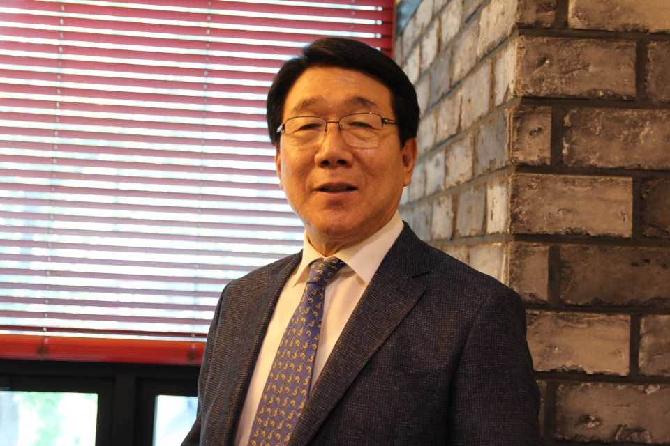 백효흠 대불련 총동문회장.