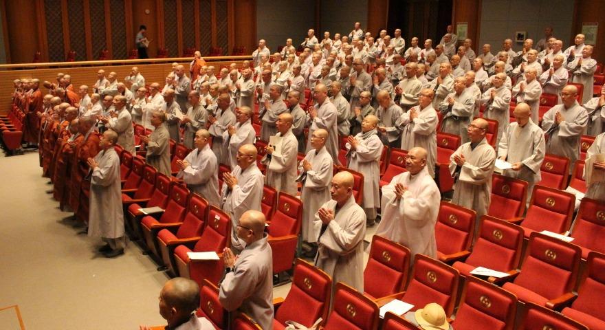 조계종 직할교구가 10월15일 한국불교역사문화기념관 전통문화예술공연장에서 불기 2563년 제2차 교구종회를 열었다.