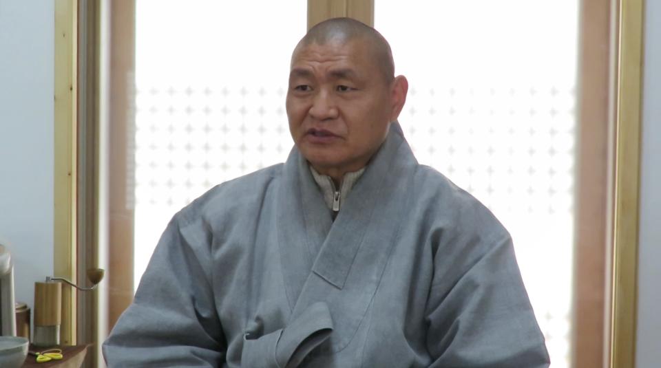 제 21대 밀양불교사암연합회 회장에 취임한 표충사 주지 진각스님